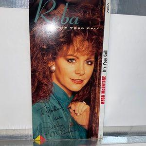 Reba McEntire Autographed Cover